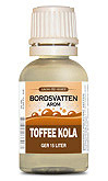 Toffee Kola 30 ml Bordsvattenarom - Tysk Etikett
