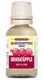 Granatäpple smakessens för kolsyrat vatten bild